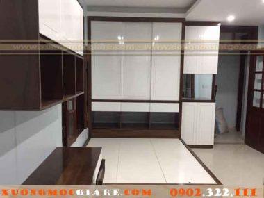 Chuyên nhận đóng tủ áo kết hợp giưởng ngủ tại Gò Vấp