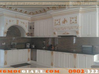 Đóng đồ gỗ nội thất tân cổ điển cao cấp theo thiết kế