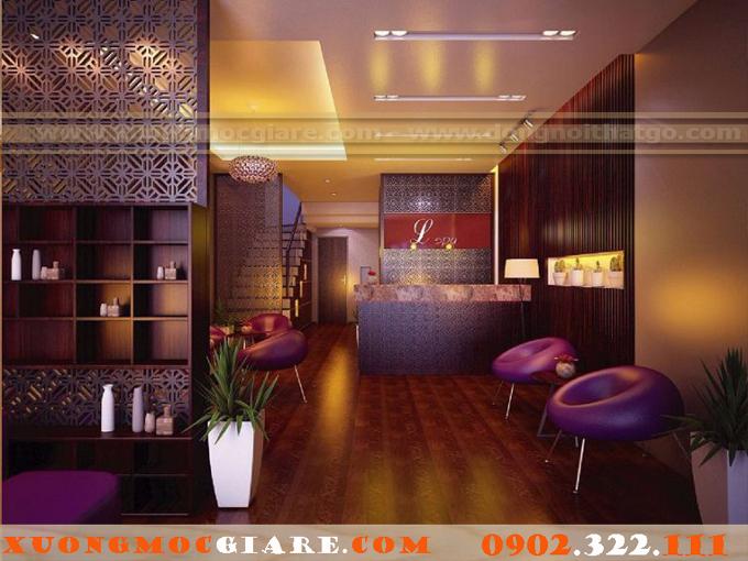 đóng nội thất Resort Spa