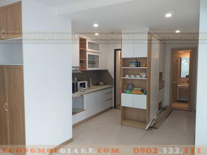 hoàn thiện nội thất căn hộ chung cư  Masterri