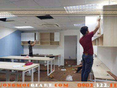 Xưởng đóng tủ hồ sơ văn phòng tại Tp HCM đẹp giá rẻ