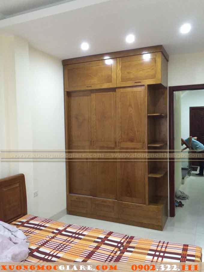 tủ áo gỗ công nghiệp