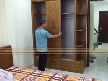 Lắp đặt tủ áo chung cư linh đông quận Thủ Đức