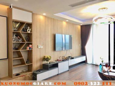 Thi công đồ gỗ nội thất chung cư uy tín, cao cấp ở TpHCM