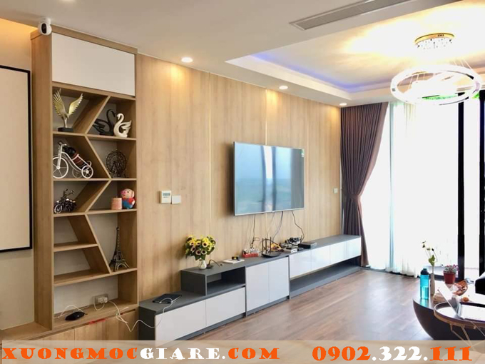 Thi công đồ gỗ nội thất chung cư