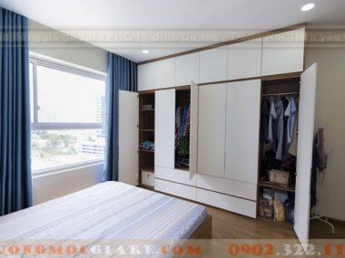 Tổng hợp các thiết kế tủ quần áo cao đụng trần