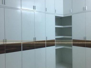 Nhận đóng tủ quần áo chữ L rẻ tại Tân Bình