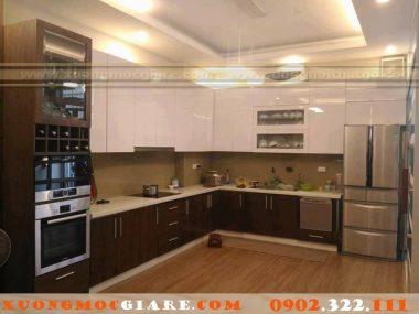 Xưởng đóng tủ bếp chuyên nghiệp, uy tín, giá rẻ tại TPHCM