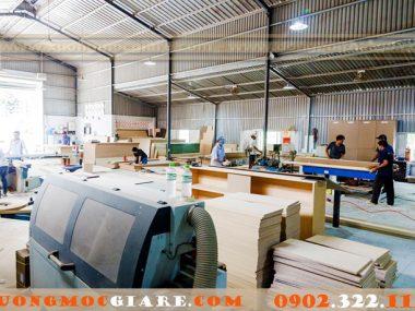 Xưởng nhận đóng tủ kệ gỗ giá rẻ theo yêu cầu