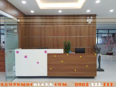 Xưởng mộc đóng đồ gỗ nội thất văn phòng theo yêu cầu