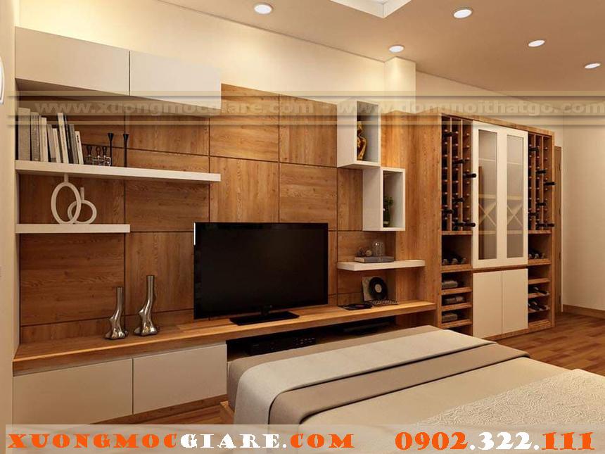 Xưởng mộc thi công và đóng nội thất  gỗ công nghiệp cho chung cư