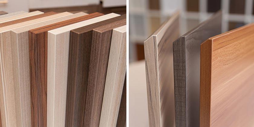 Các loại bề mặt gỗ công nghiệp phổ biến